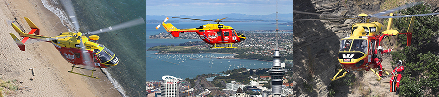 Westpac Rescue Helicopter - ZK-HHV