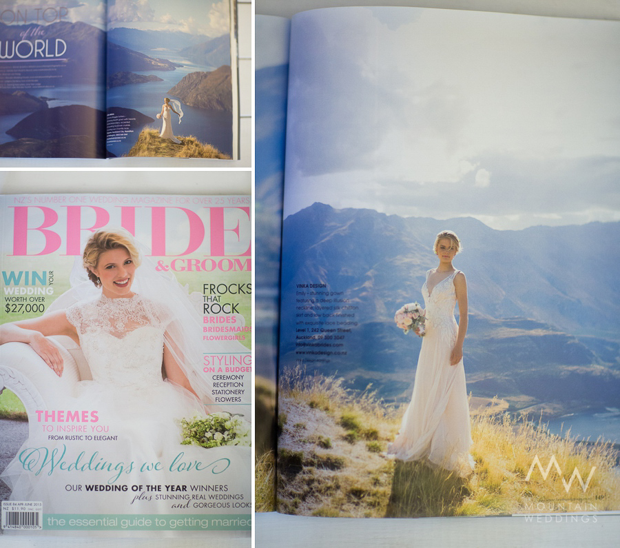 Bride & Groom Magazine Wanaka Feature