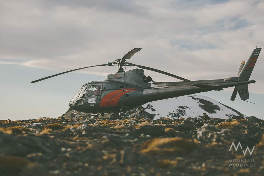 Queenstown Heli Weddings