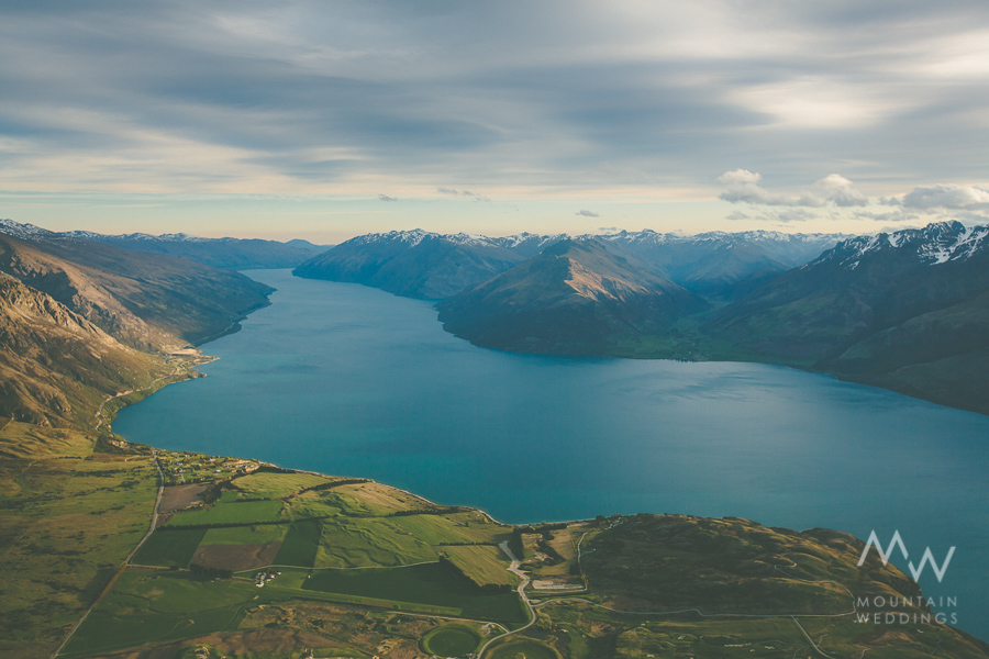 Jacks Point Aerial Lake Wakatipu