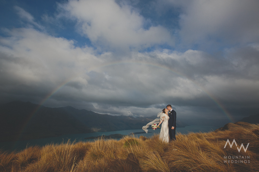 Glenorchy Heli Wedding Mountain Weddings