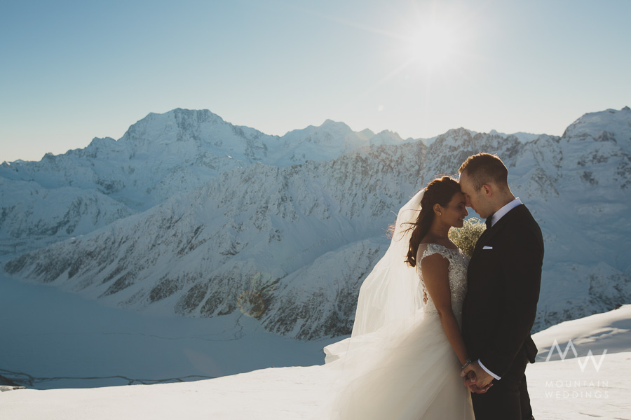 Mt Cook Heli Wedding