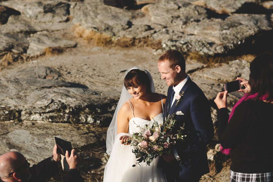 Queenstown Heli Wedding