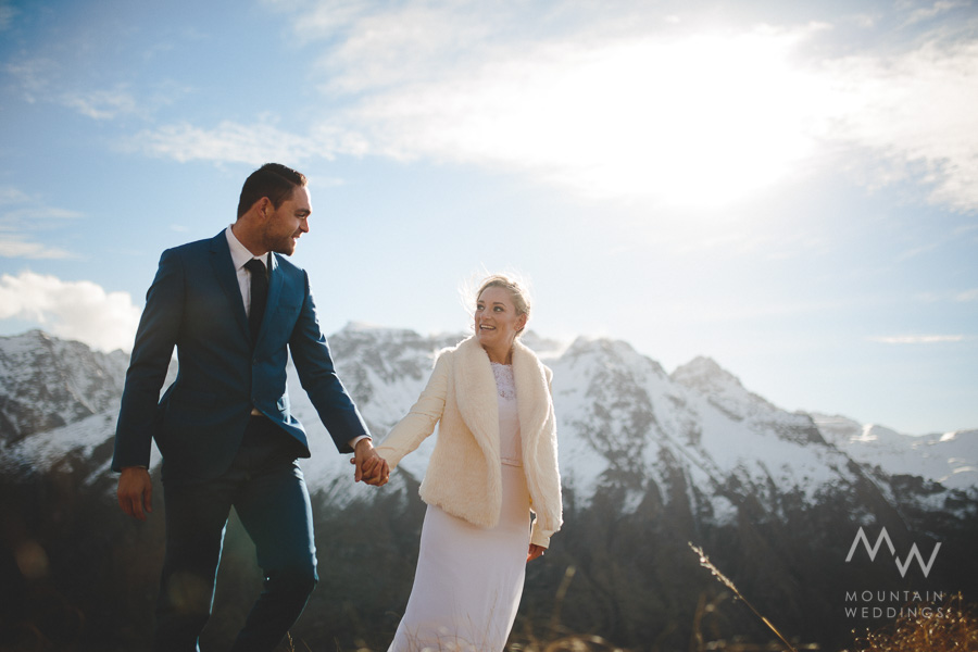 Bayonet Peaks Queenstown Wedding