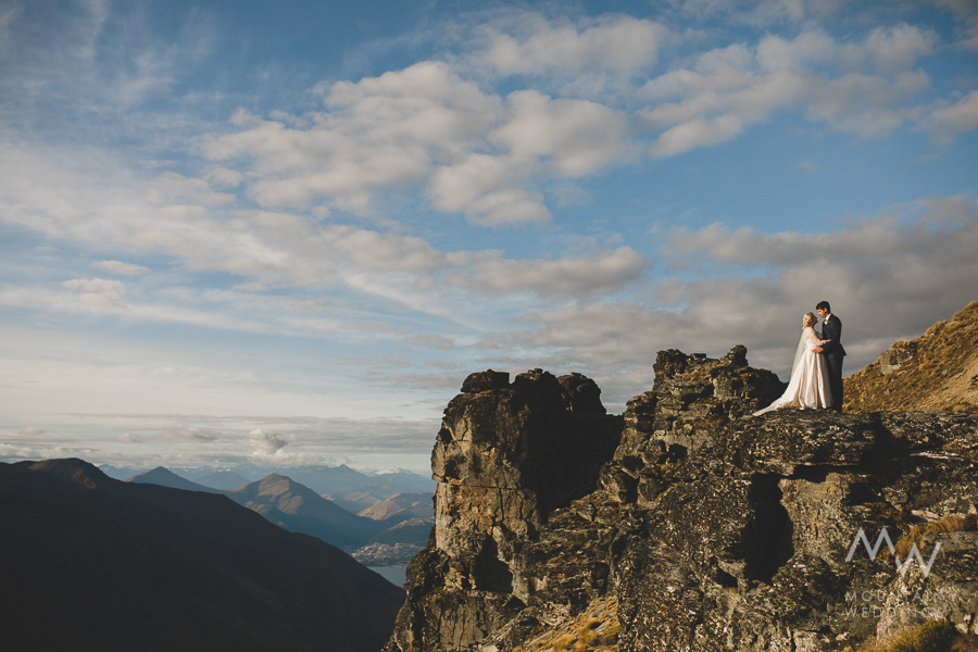 Queenstown Wedding Bayonet Peaks