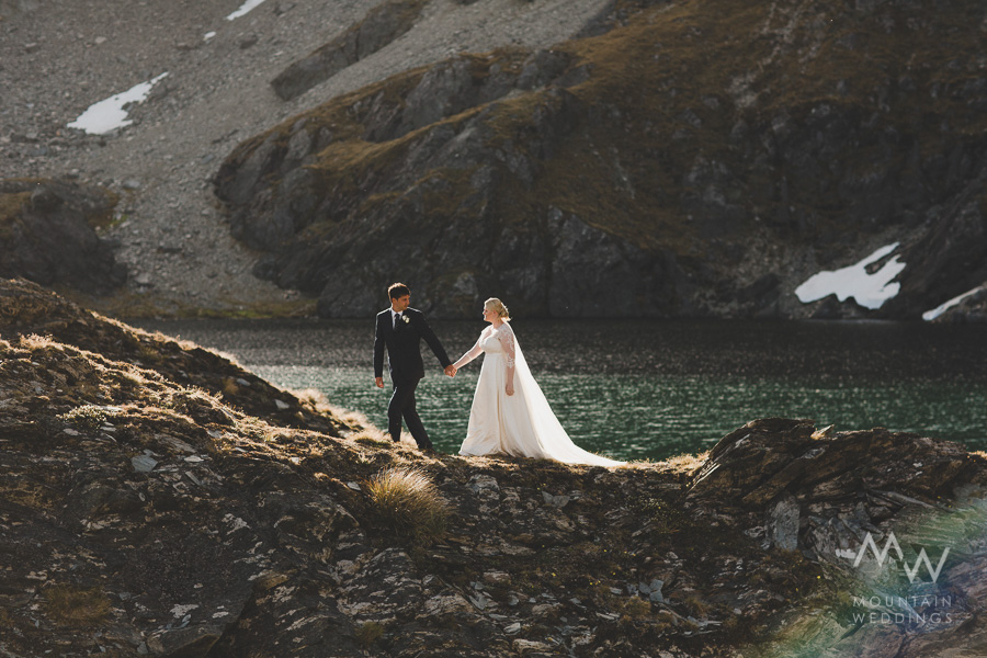 Queenstown Wedding Lake Isobel