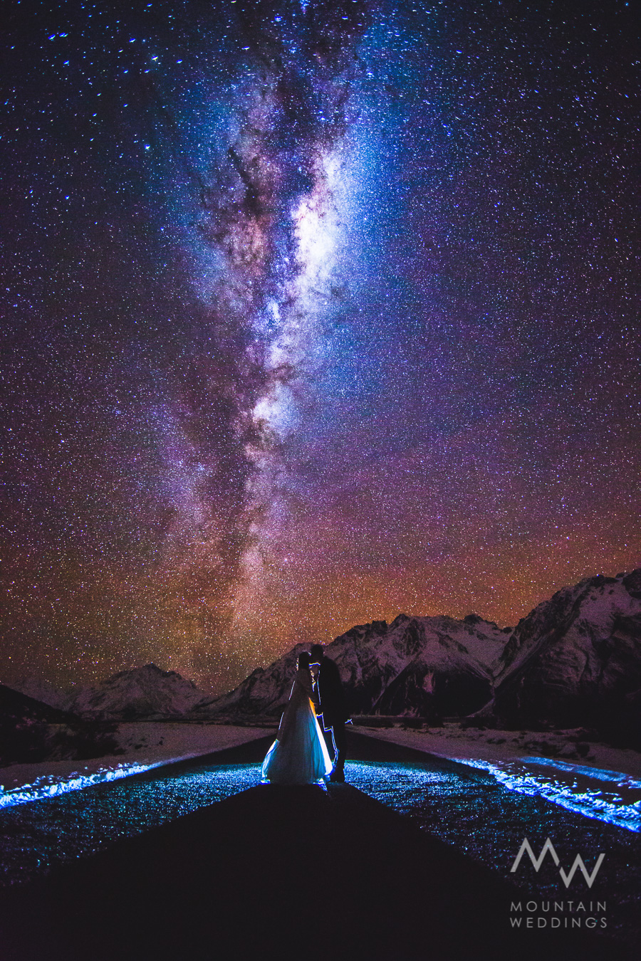 Queenstown Astro Wedding Photos