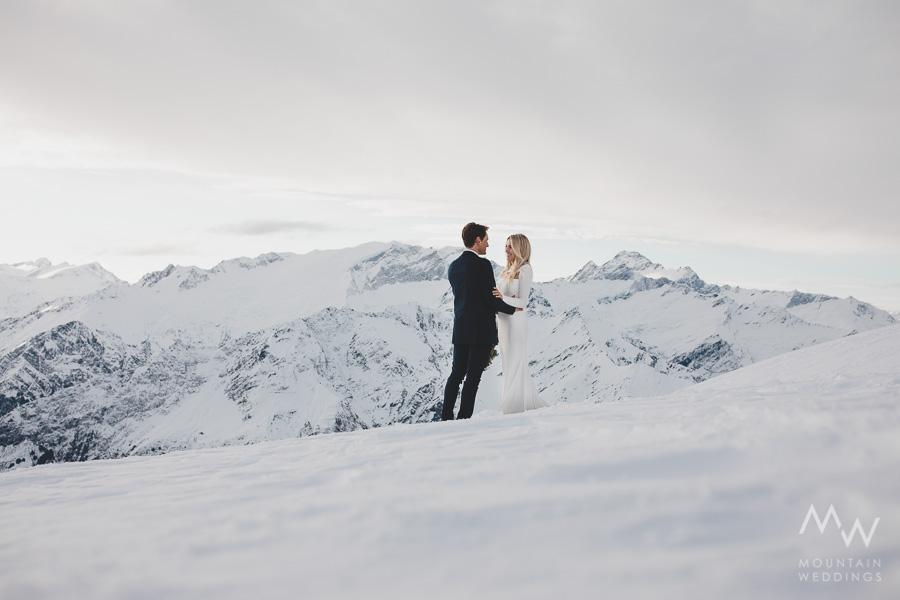 Fog Peak Wanaka Heli Wedding