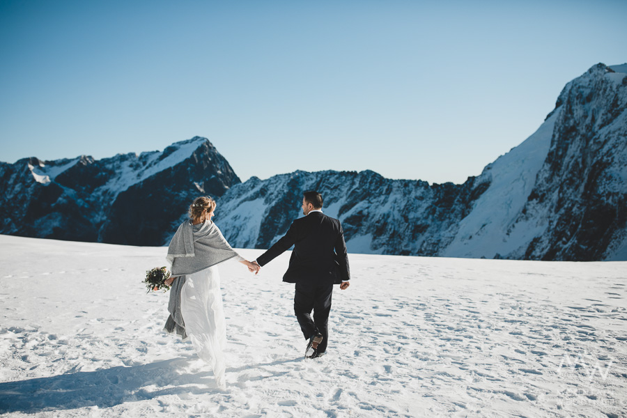 Tutoko Glacier Wedding New Zealand