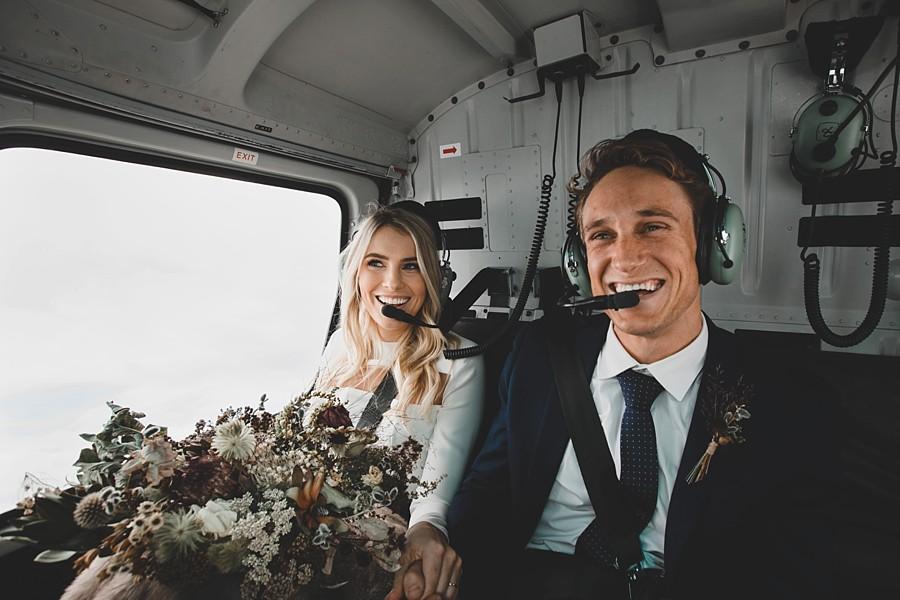 Coromandel Peak Heli-Wedding