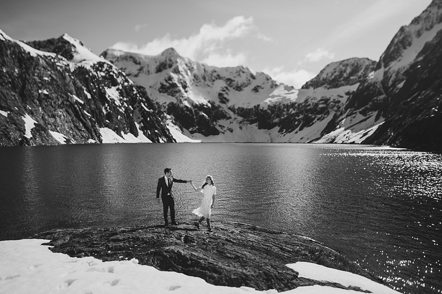 Queenstown Heli Wedding Lake Erskine