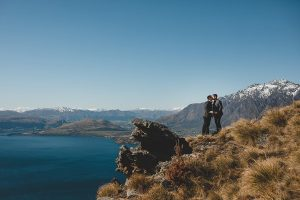 Queenstown Heli Wedding Bayonet Peaks