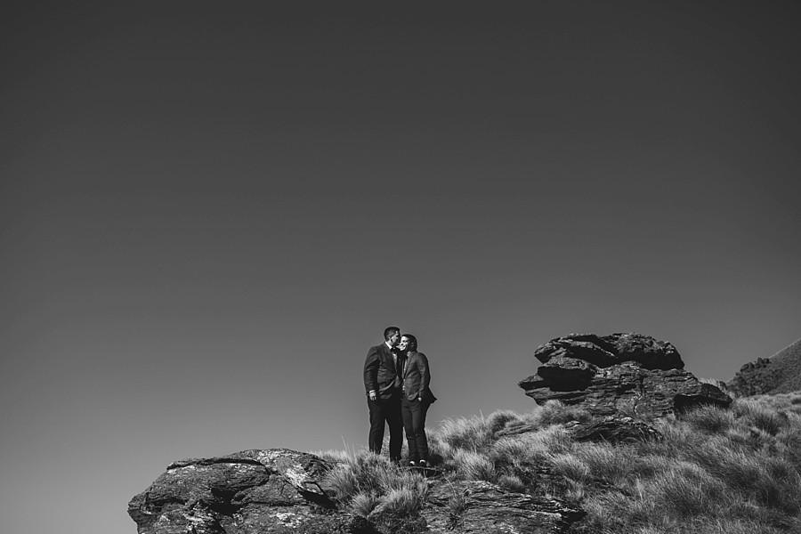 Queenstown Heli Wedding Bayonet Peaks