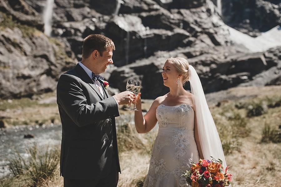 Earnslaw Burn Queenstown Wedding