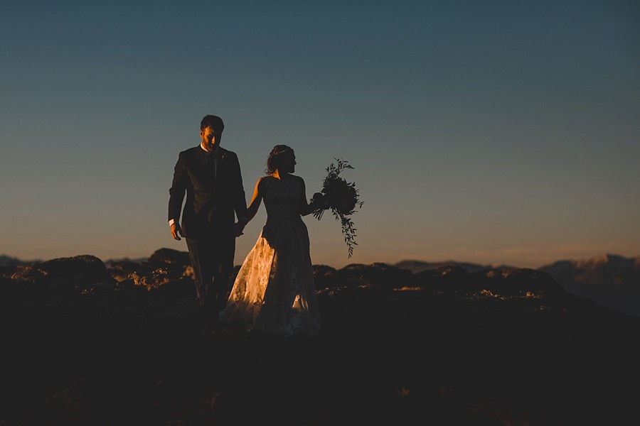 Queenstown Autumn Helicopter Wedding