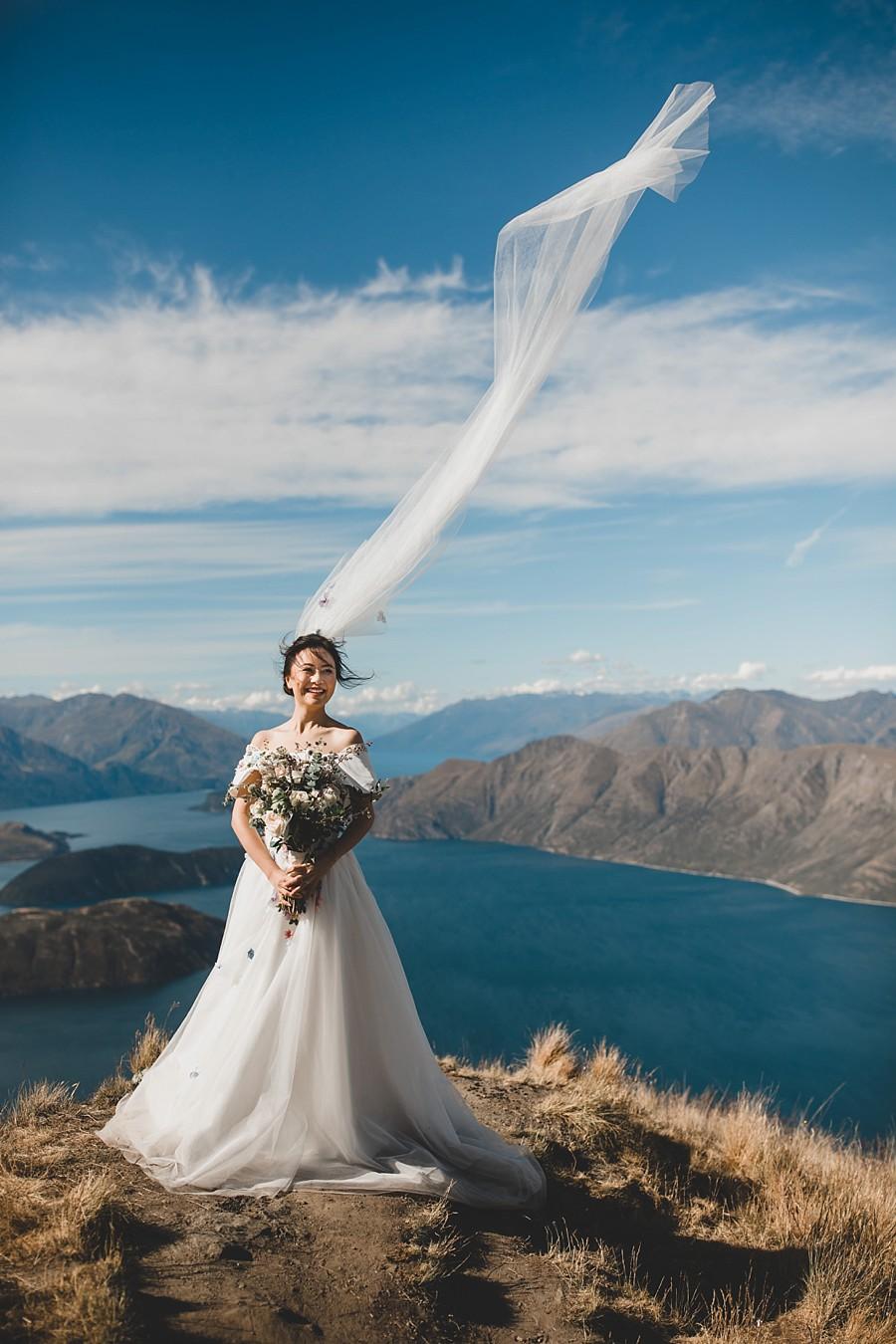 Roys Peak Wanaka Wedding