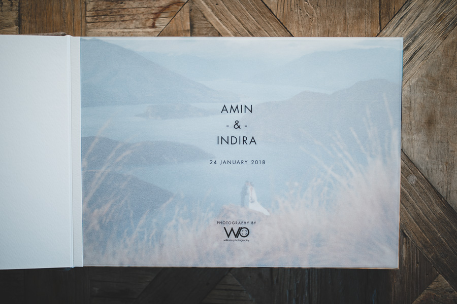 Queensberry Wedding Albums Wanaka Coromandel Peak