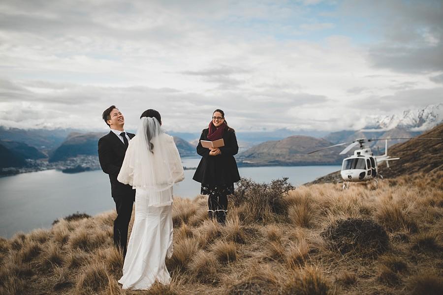 New Zealand Elopement Lake Erskine