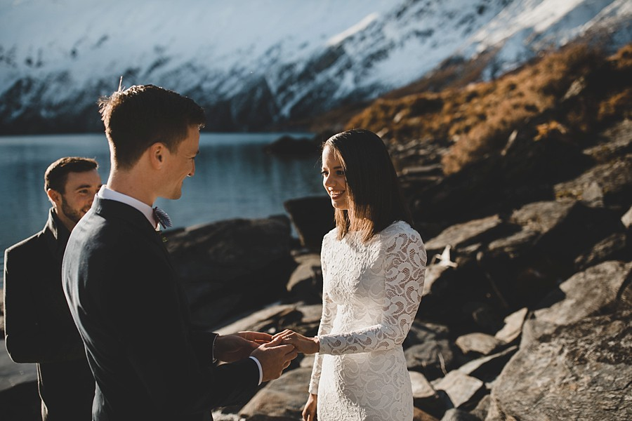 Wanaka Helicopter Wedding Lochnagar