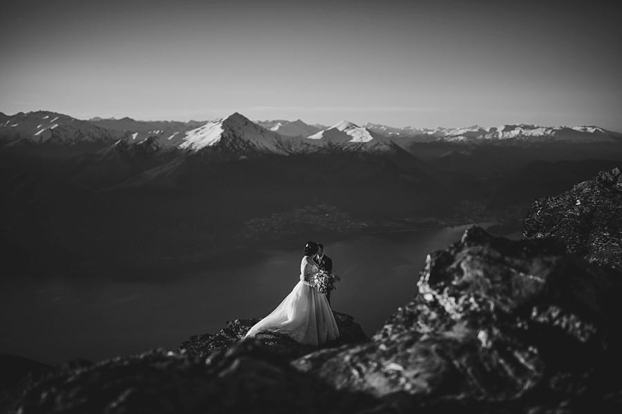 Queenstown Mountain Wedding