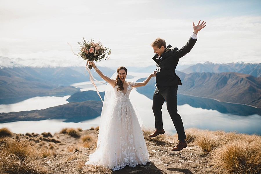 Roys Peak Wedding New Zealand