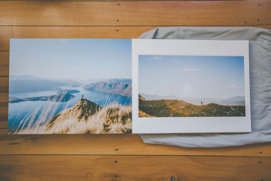 Queensberry Wedding Albums Wanaka Coromandel Peak
