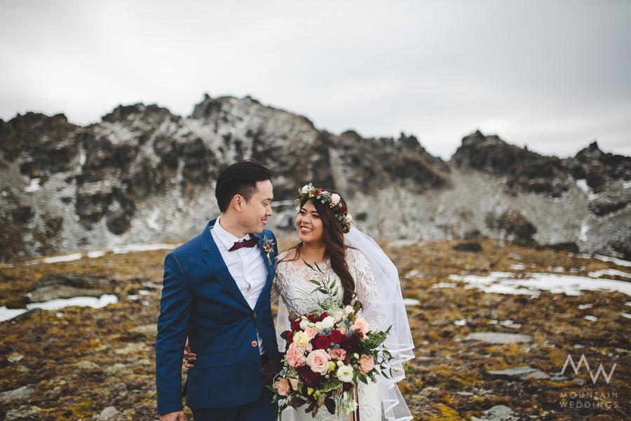 Garden Spur Wedding Queenstown