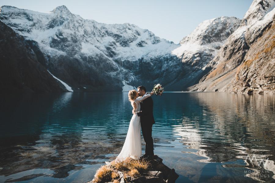 Lake Erskine Fiordland Wedding