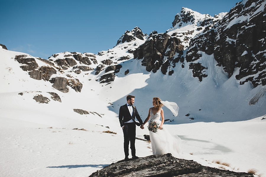 Queenstown Weddings - Heli-Wedding