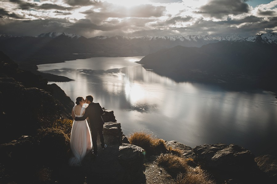 Queenstown The Ledge Heli Wedding