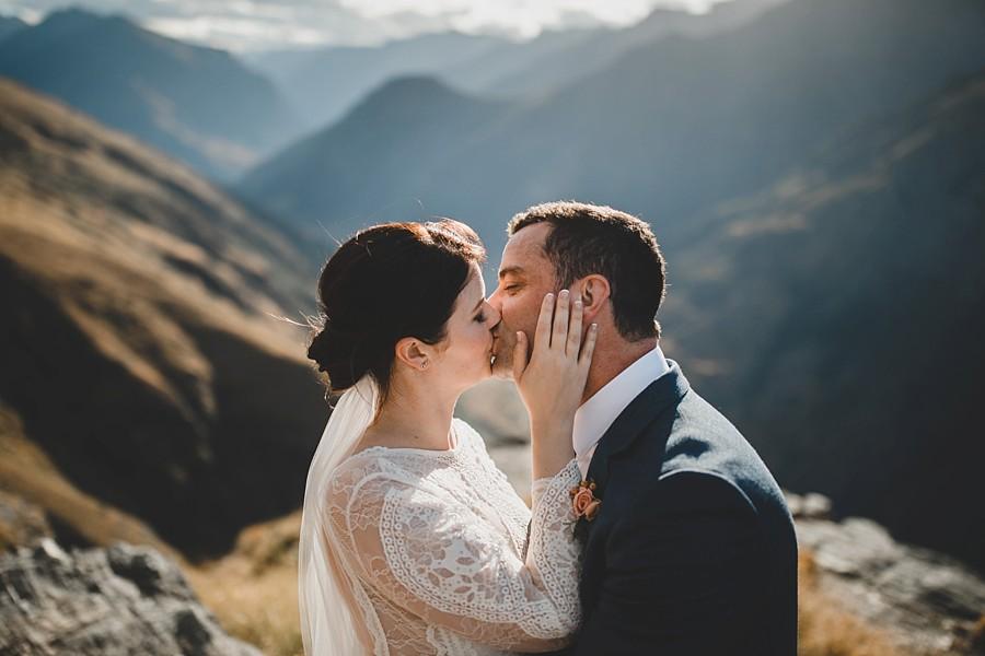Queenstown Wedding Bayonet Peaks