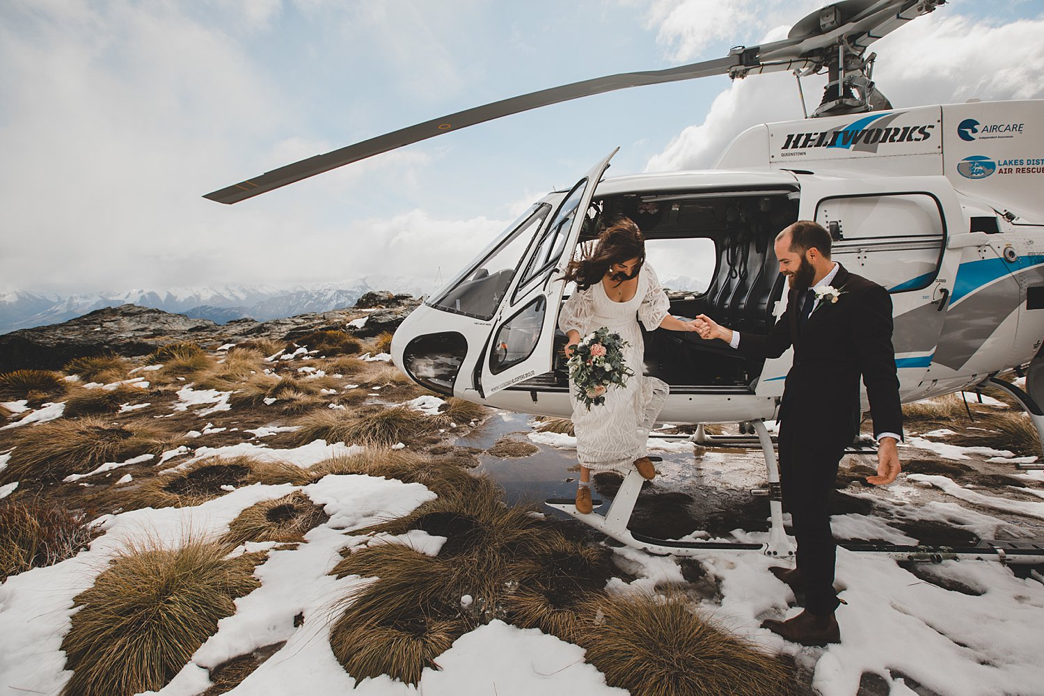 Queenstown Helicopter Wedding The Ledge