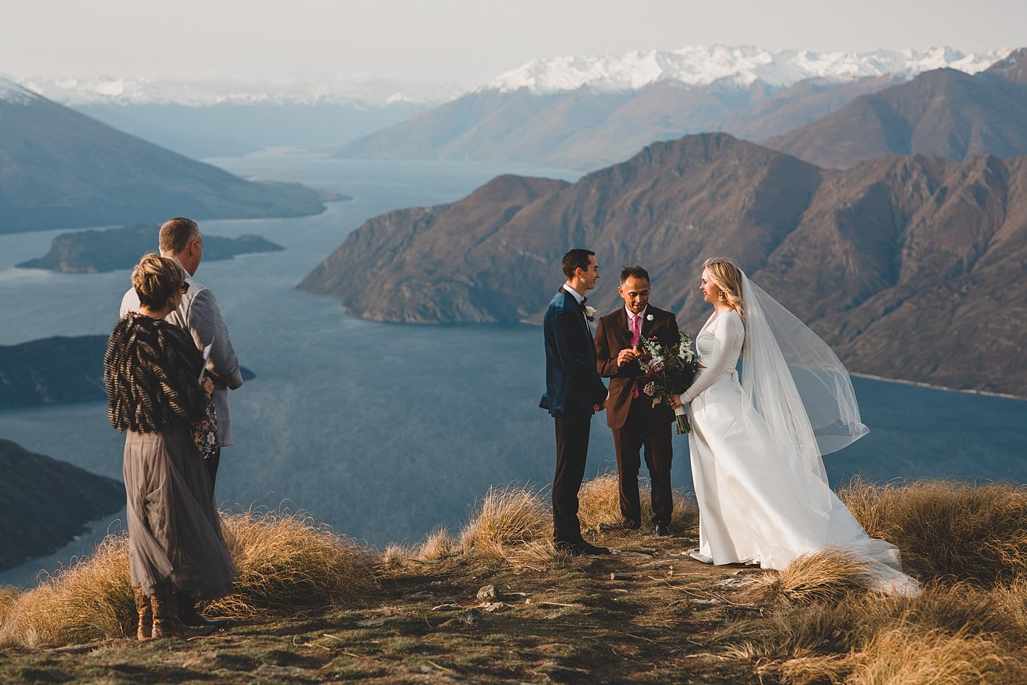 Coromandel Peak Mountain Wedding