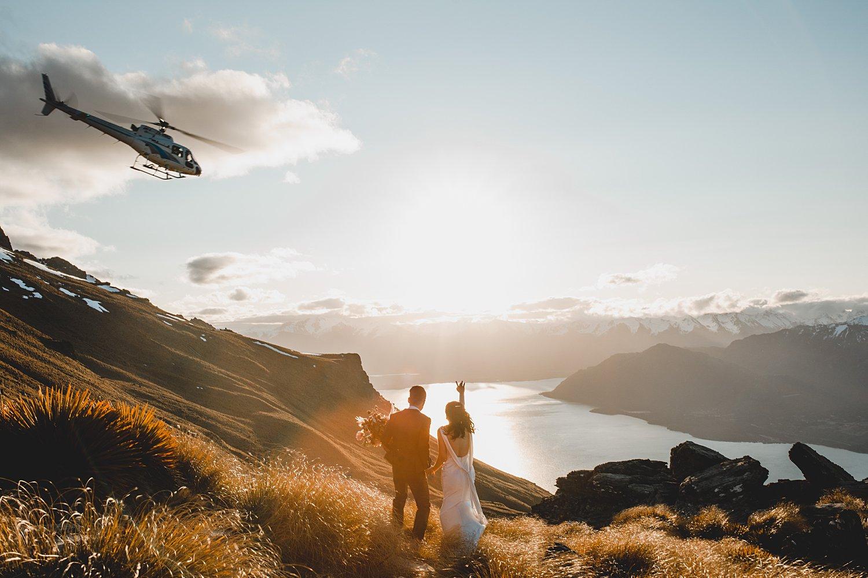 New Zealand Elopement Queenstown Mountain Weddings