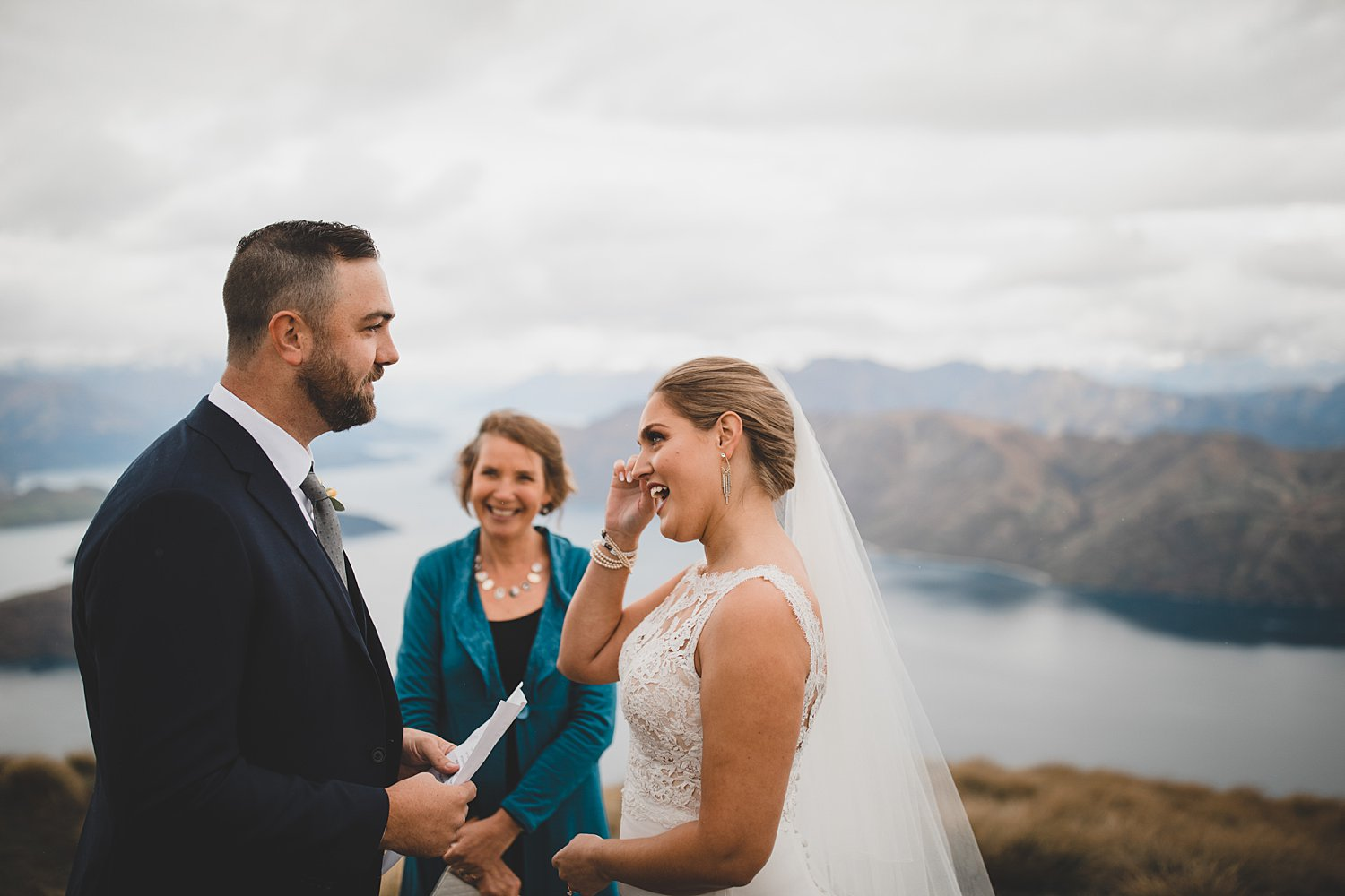 Roys Peak Mountain Wedding