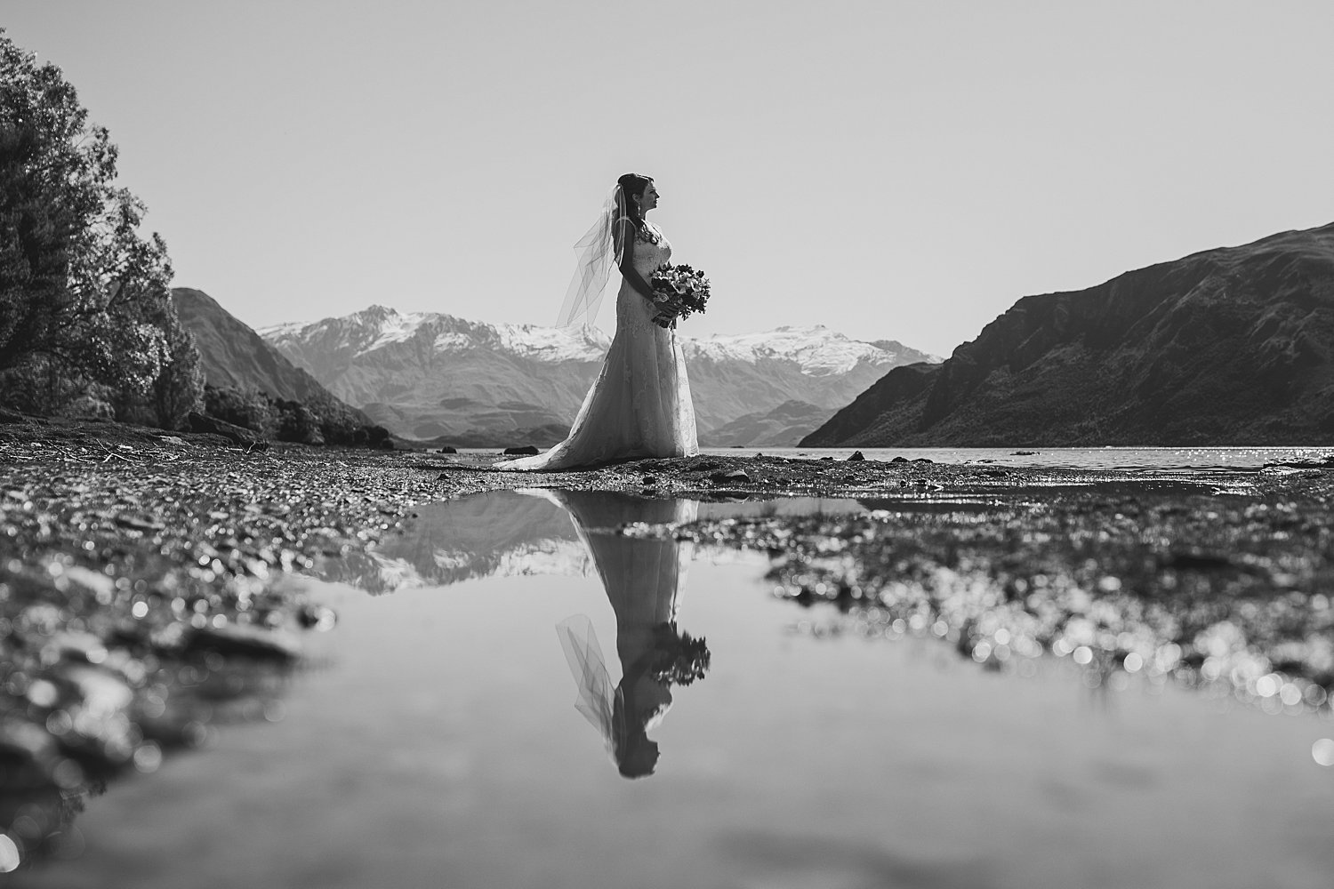 Wanaka Lakeside Elopement