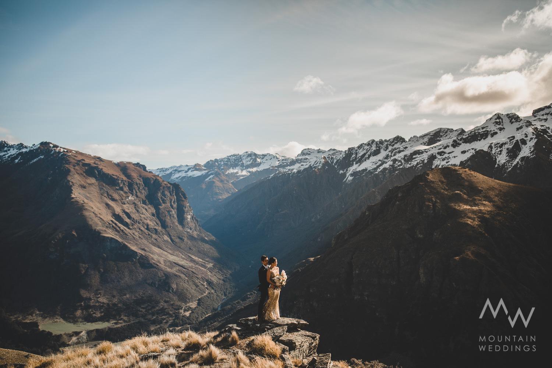 Elope New Zealand Bayonet Peaks