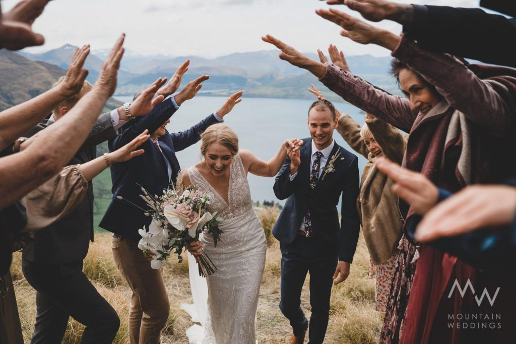Bayonet Peaks New Zealand Elopement