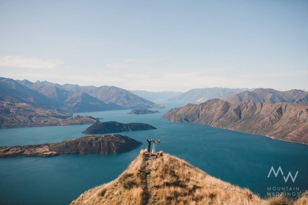 Coromandel Peak New Zealand Elopement