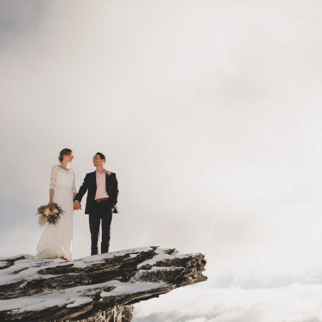 Heli Wedding Vanguard Peak