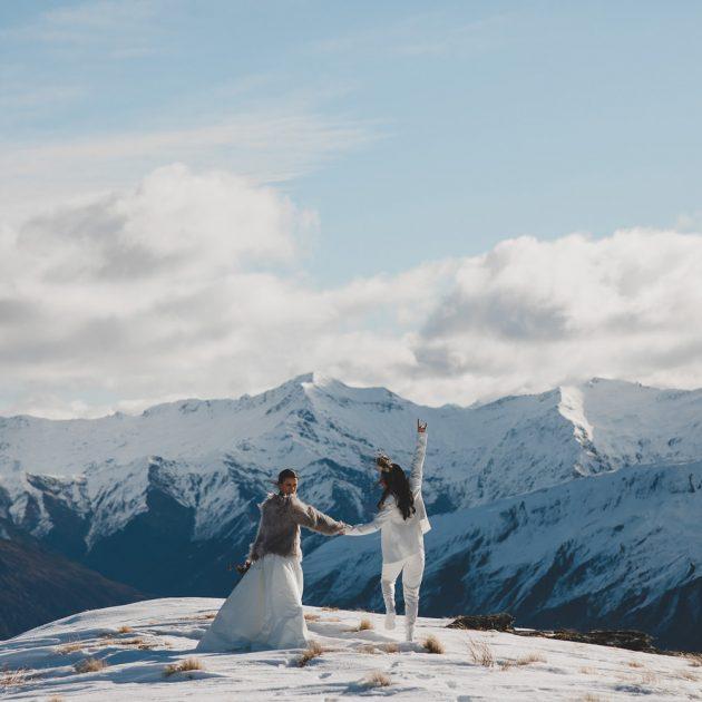 Vanguard Peak Heli Wedding