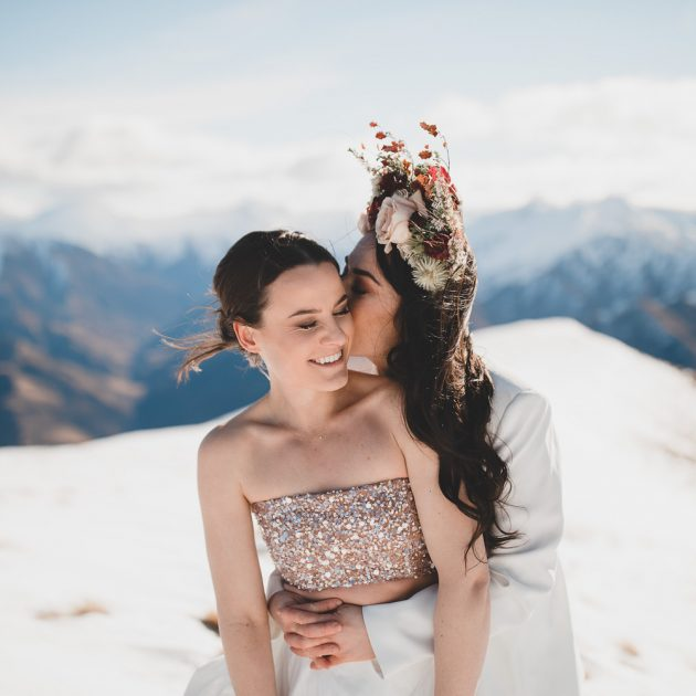 Vanguard Peak Heli Wedding