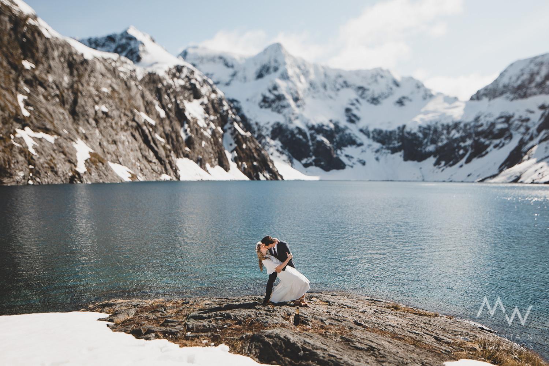 Mountain Wedding Lake Erskine