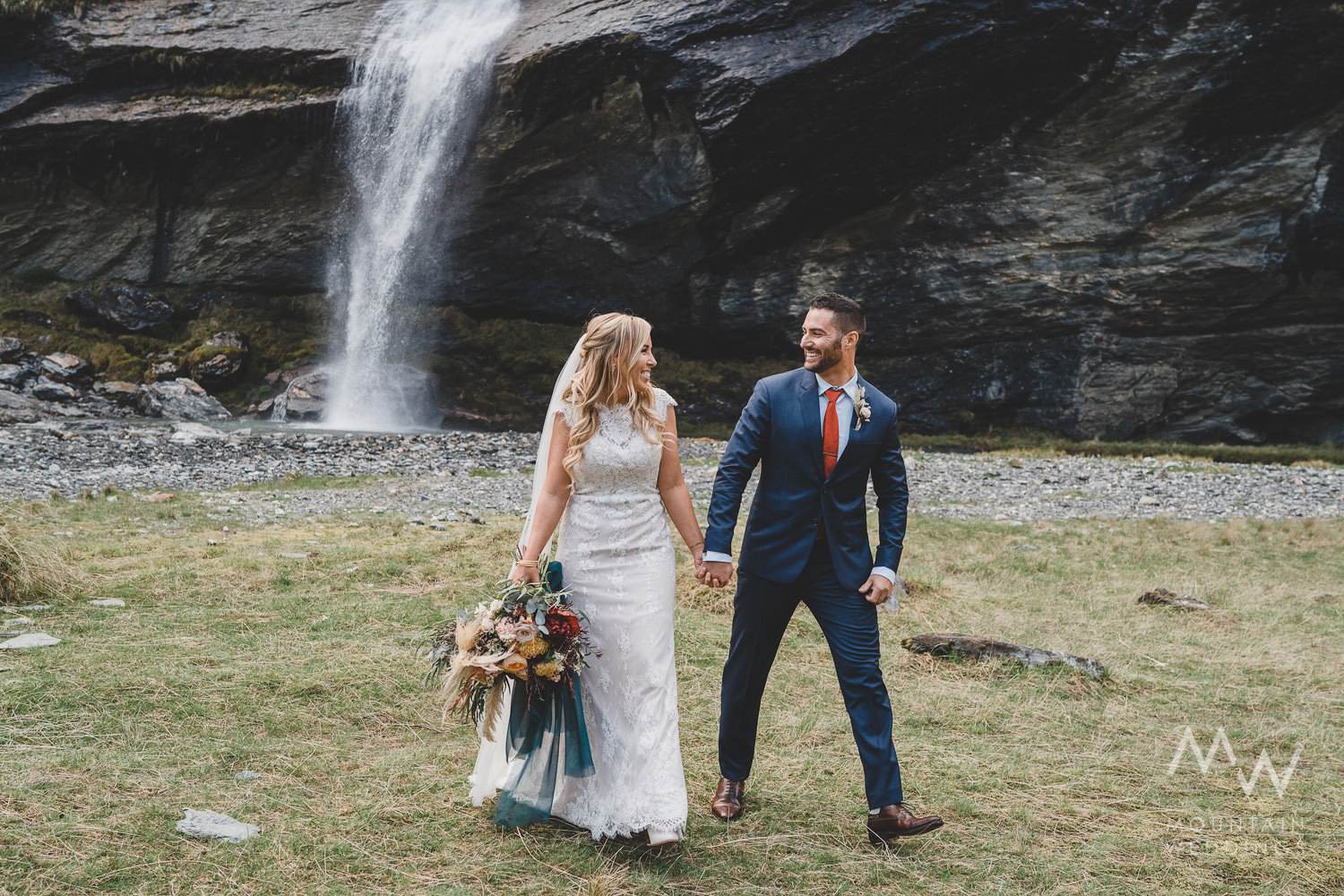 New Zealand Elopement Earnslaw Burn