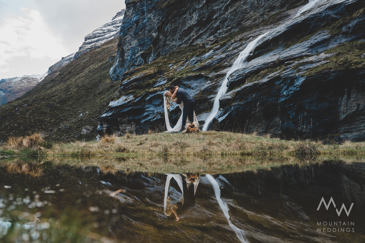 Earnslaw Burn New Zealand Elopement