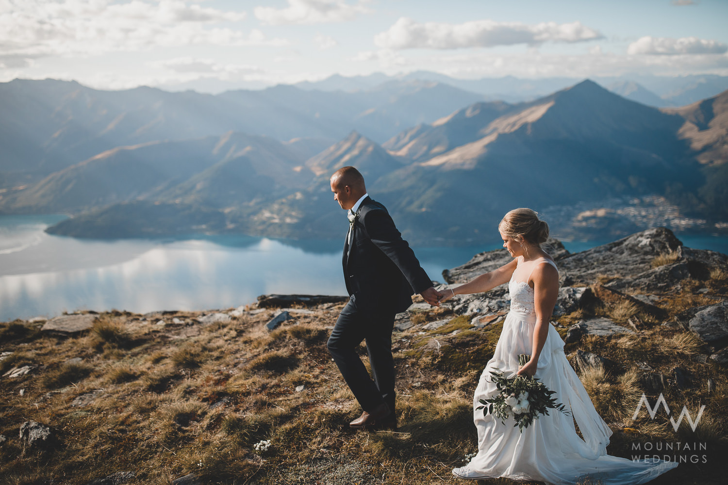 Cecil Peak Queenstown Elopement
