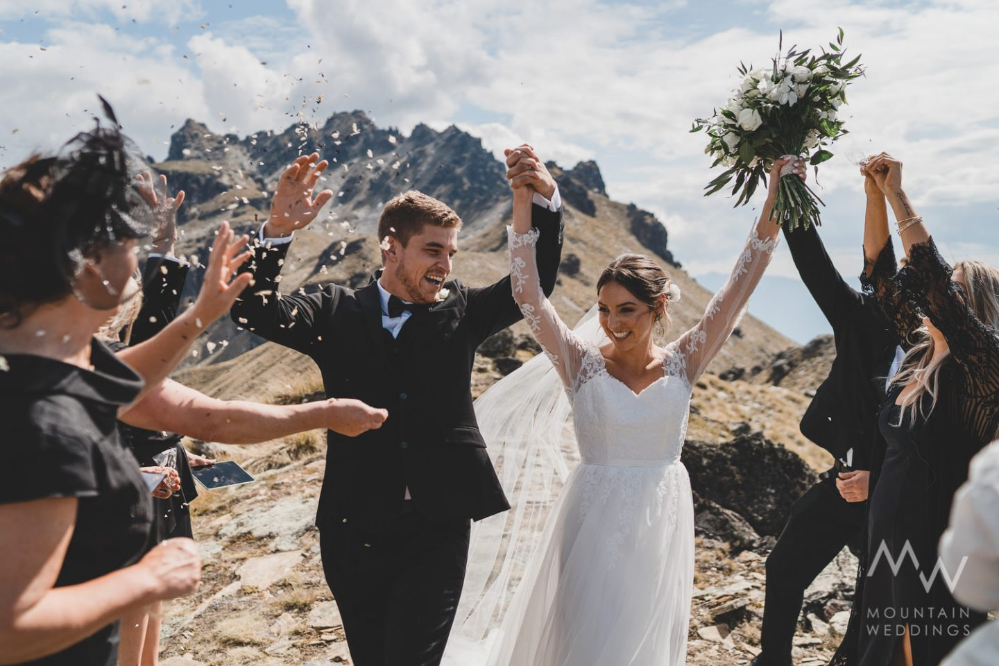 Heli Wedding Cecil Peak