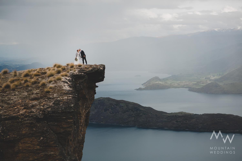 Wanaka Elopement Lookout Hill