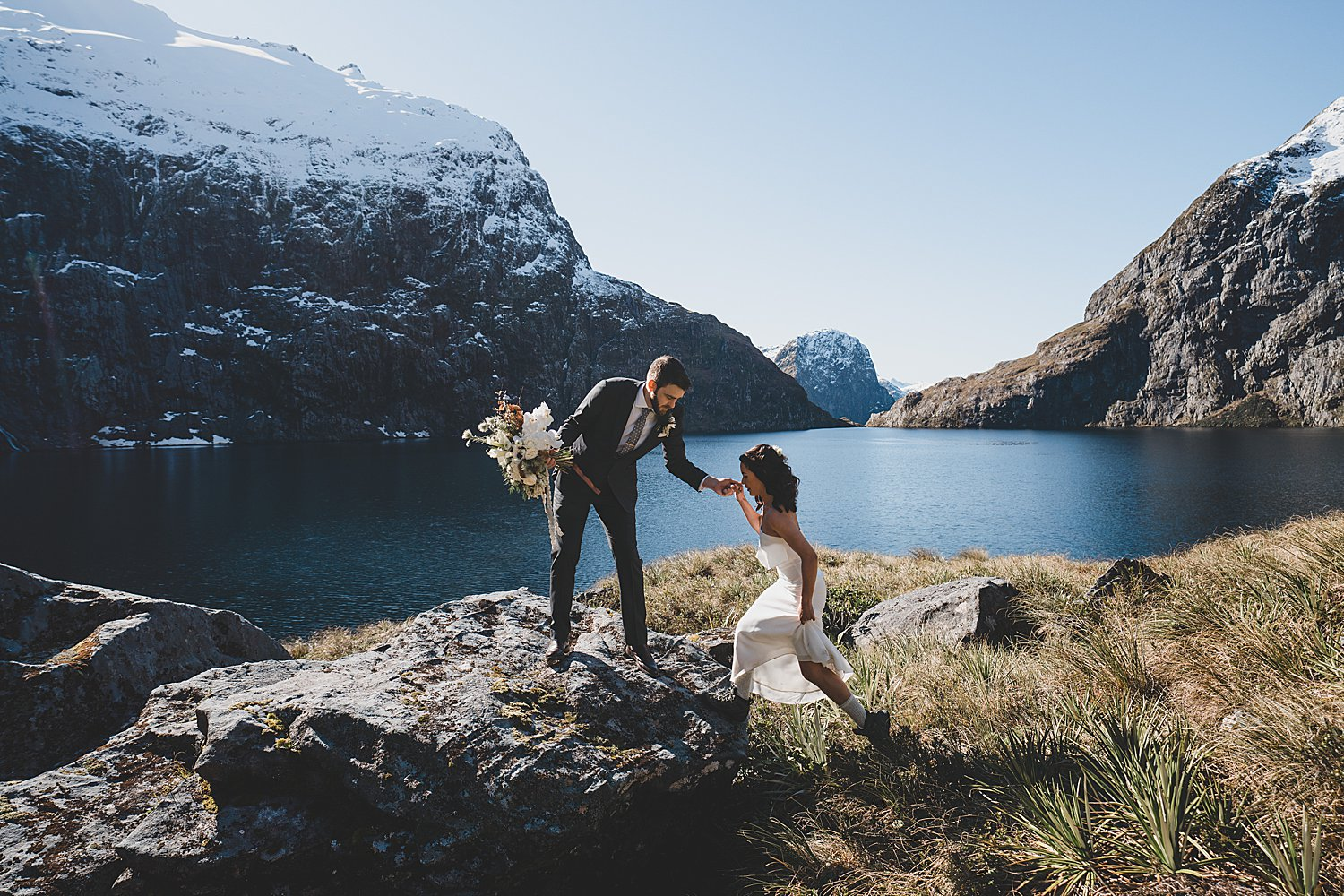Lake Quill Elopement