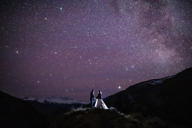 Night Sky Wedding Photos